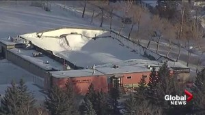 Fairview Arena unsafe for interior inspection after roof collapses