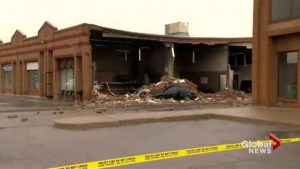 Explosion rocks Vaughan cafe