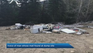 Illegal dump site near Apex has some local fuming