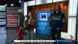 Carmanah perform 'Long Way From Home'