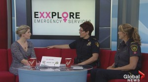 Exploring careers for women in emergency services
