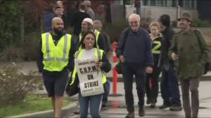 Postal workers launch job action at Richmond, B.C. plant