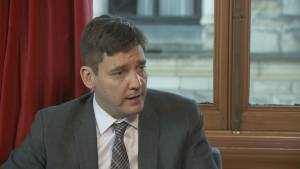 B.C. Attorney General David Eby says ICBC savings should come in the next year
