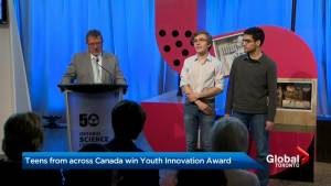 Teens from across Canada win youth innovation award