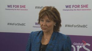 'It's a terrible loss for Canada': B.C. Premier Christy Clark on death of Jim Prentice