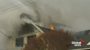Flames engulf Victoria heritage home