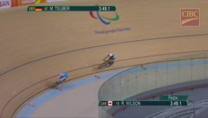 Rio Paralympics: Edmonton's Ross Wilson sets new Paralympic record