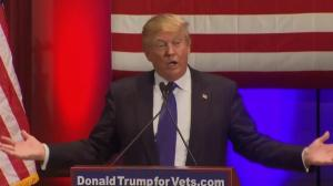 Trump: We raised over $5M for veterans in 1 day