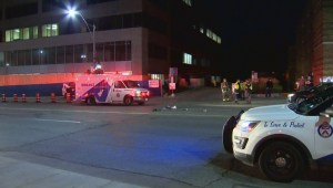 2 pedestrians injured after being struck by vehicle at Yonge and Lawrence