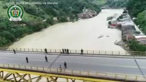 Thousands evacuated after floods at Cauca River Dam in Colombia