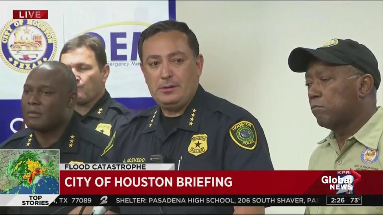 Houston police officer drowns in Hurricane Harvey floods