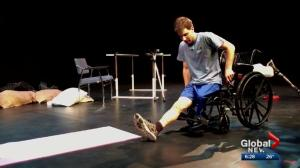 Alberta playwright goes to great lengths to find right actor to play disabled soldier