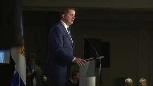 Andrew Scheer promises to upset Liberal stronghold in Atlantic Canada