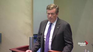 Mayor Tory condemns 'unspeakable' shooting on Toronto's Danforth