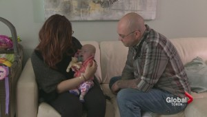 After living at Toronto hospital since birth, six-month-old baby Georgia is finally home