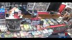 Dramatic video shows armed robbery of Calgary convenience store