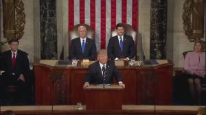 Trump delivers first speech to Congress after first 40 days in White House