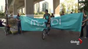 'Soft' launch today of Vancouver's long awaited bike sharing program