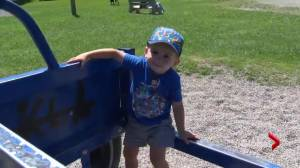 N.B. family fundraises to get 2-year-old treatment for rare condition