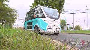 Self-driving bus comes to Candiac