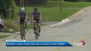 Tobias brothers are riding to send children with cancer to camp