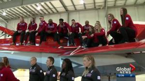 Canadian skeleton and bobsleigh team unveiled in Calgary