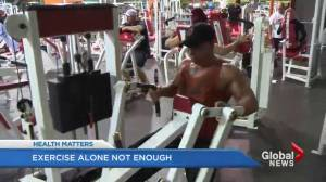 Working out more does not help with weight loss: study