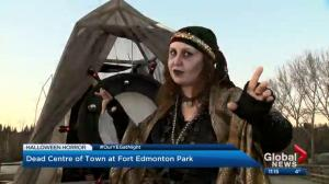 Our YEG At Night: Fort Edmonton Park