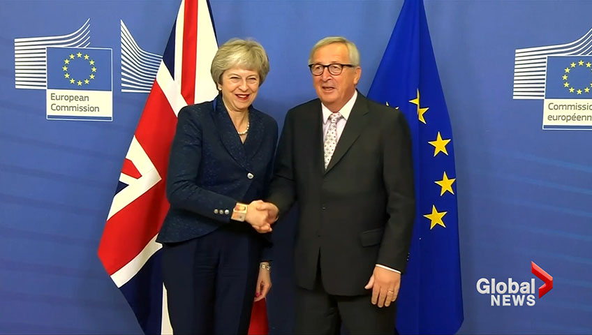 Brexit: No renegotiation, EU Commission chief tells Theresa May
