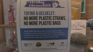 Tofino and Ucluelet introduce single-use plastics ban on World Oceans Day (01:50)