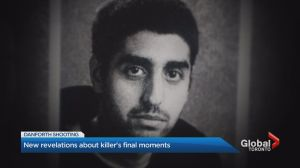 New revelations about Danforth killer's final moments