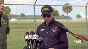 NTSB says there were reports of heavy rain as Miami Air flight landed