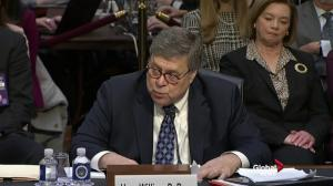 'On my watch Bob will be allowed to finish his work': William Barr
