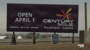 Century Mile Racetrack and Casino opening Monday