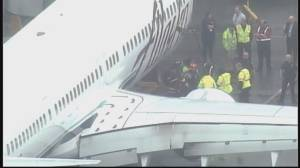 Emergency landing for Alaska Airlines flight