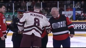 Mixed reaction for Premier Doug Ford's appearance at Peterborough Petes game