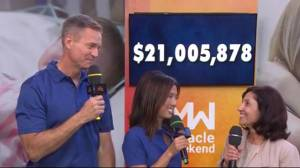 British Columbians help raise over $21-million for BC Children's Hospital