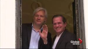 WikiLeaks founder Julian Assange questioned in London