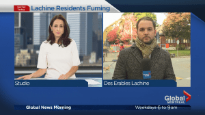 Lachine residents caught off guard by construction