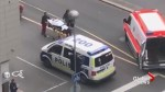 Victim in Finland stabbing seen being loaded into ambulance
