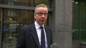 Michael Gove, potential new Brexit minister, says he has full confidence in Theresa May