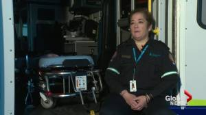 Alberta EMS member speaks about job's toll on her mental health