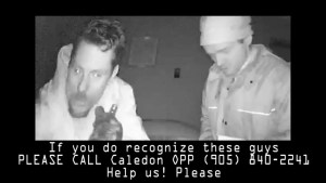 Suspects caught on video allegedly robbing home of deceased grandmother