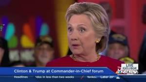 Speech expert analyzes the Commander in Chief Forum