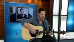 Noah Reid performs on The Morning Show