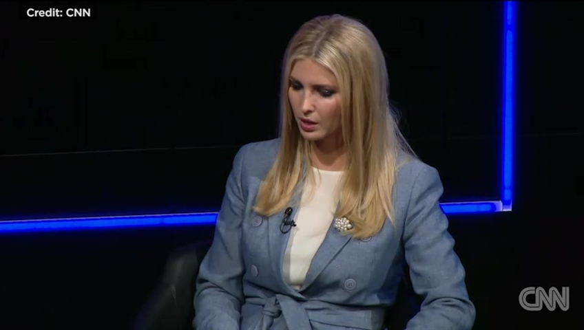 News media not 'enemy of the people,' Ivanka Trump says, contradicting father