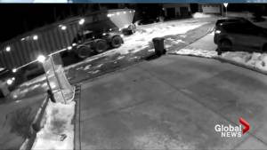 Video captures semi dragging truck through southeast Calgary community: 'I couldn't believe it'