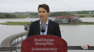 Trudeau announces employment insurance reform promise