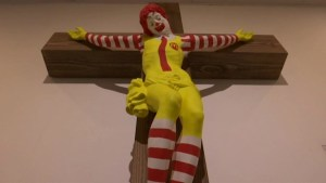 'McJesus' sculpture sparks controversy in Israel