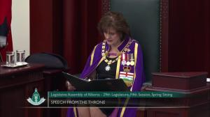 'Alberta is the most sought after market in Canada… for renewables': throne speech